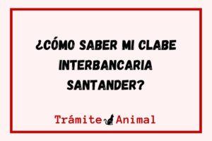 Cómo saber mi clabe Interbancaria Santander
