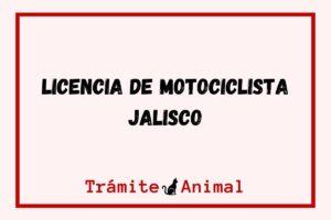 Licencia de Motociclista en Jalisco