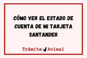 Cómo ver el Estado de cuenta de mi tarjeta Santander