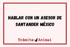 Hablar con un asesor de Santander México