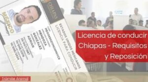 Licencia de conducir Chiapas