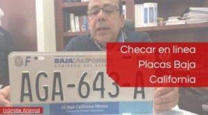 Placas Baja California