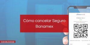 ¿Cómo cancelar un seguro Banamex?