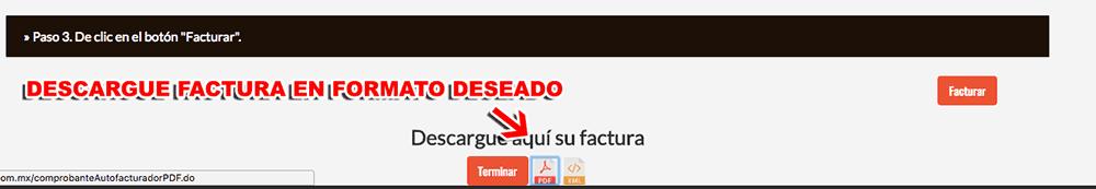 FACTURACIÓN EL MEXIQUENSE 4