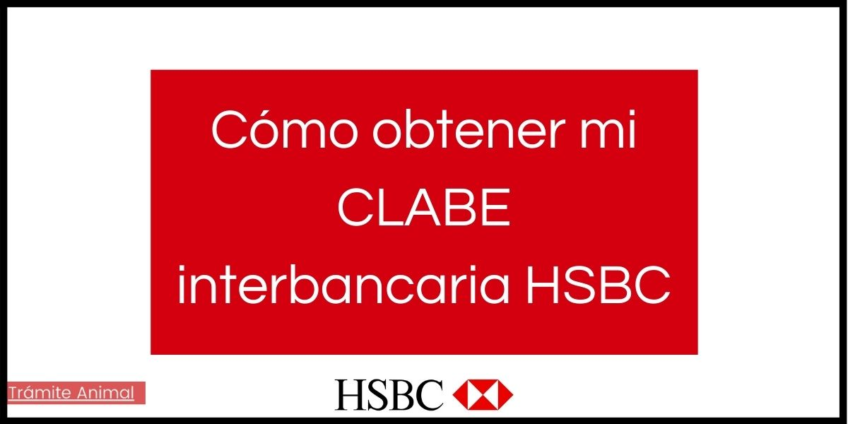 Sacar clabe interbancaria HSBC