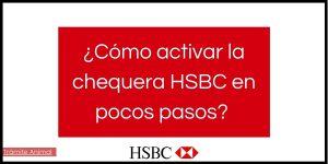 Cómo activar chequera HSBC
