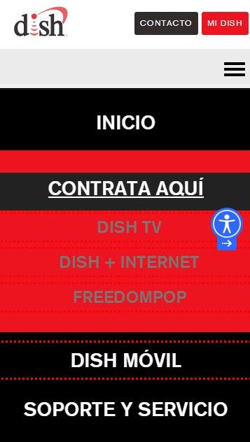 Cómo contratar Dish por internet
