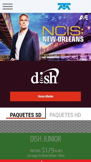 Cómo contratar Dish con Telmex