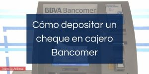 como depositar un cheque en practicaja bancomer