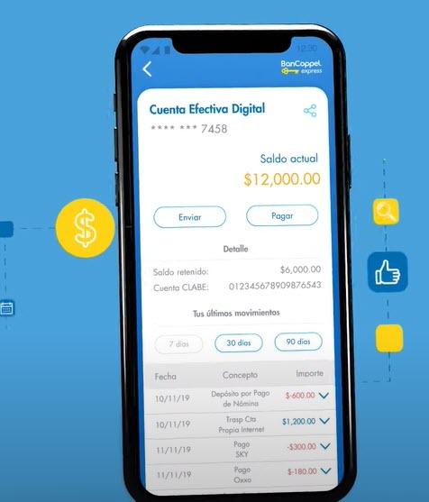 Cómo sacar el estado de cuenta Bancoppel con la app