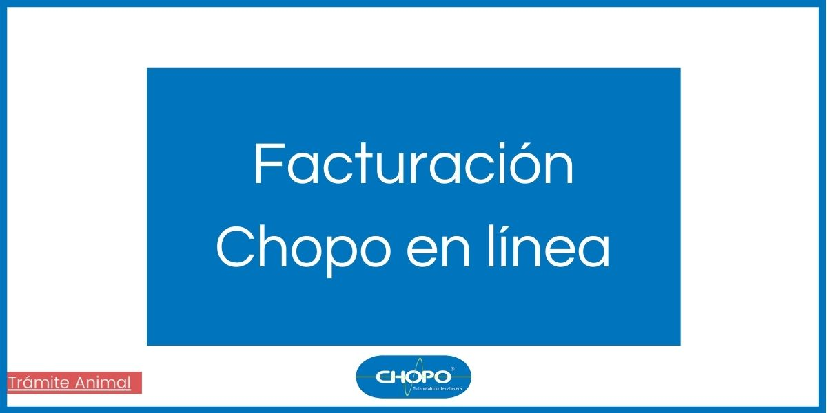 Facturación Chopo en línea