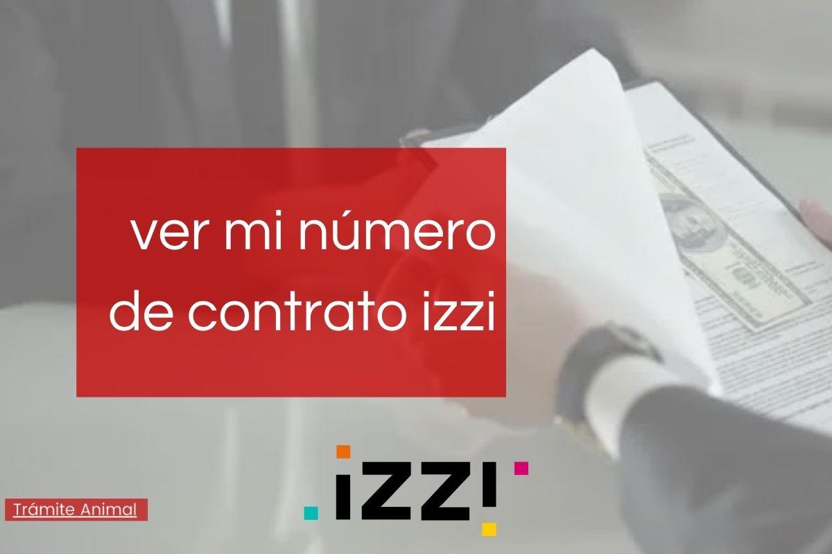 Número de contrato izzi