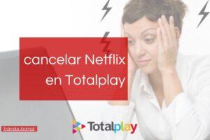 Cómo cancelar Netflix en Totalplay