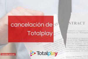 Pasos para cancelar totalplay en línea