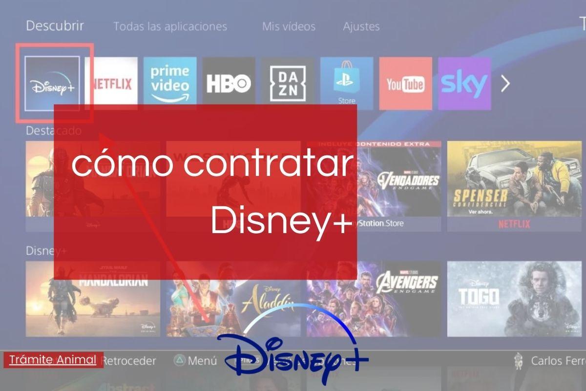 Cómo contratar Disney Plus