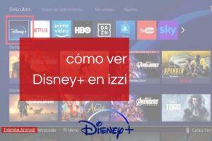 Disney Plus en izzi
