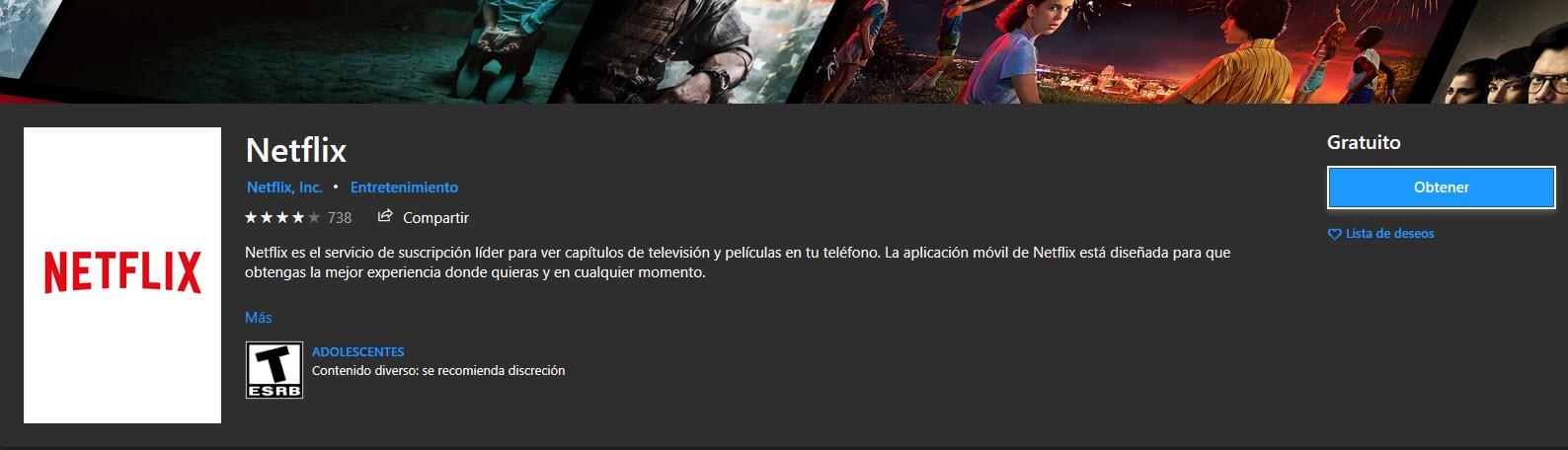 Cómo actualizar Netflix en Windows