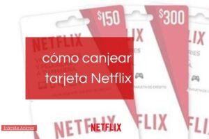 Cómo canjear tarjeta Netflix