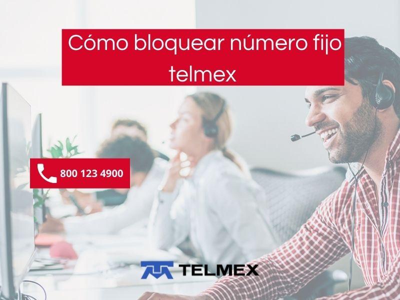 Cómo bloquear número de teléfono fijo Telmex