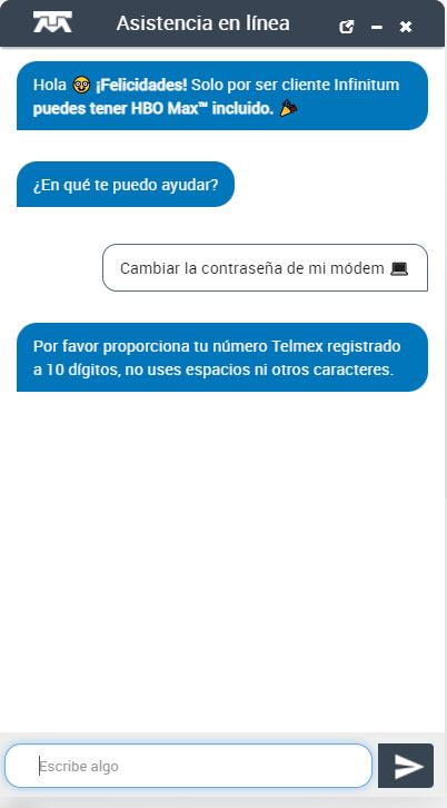 Cambiar la contraseña modem Telmex Wifi