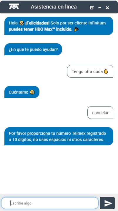 Pasos para cancelar telmex en línea
