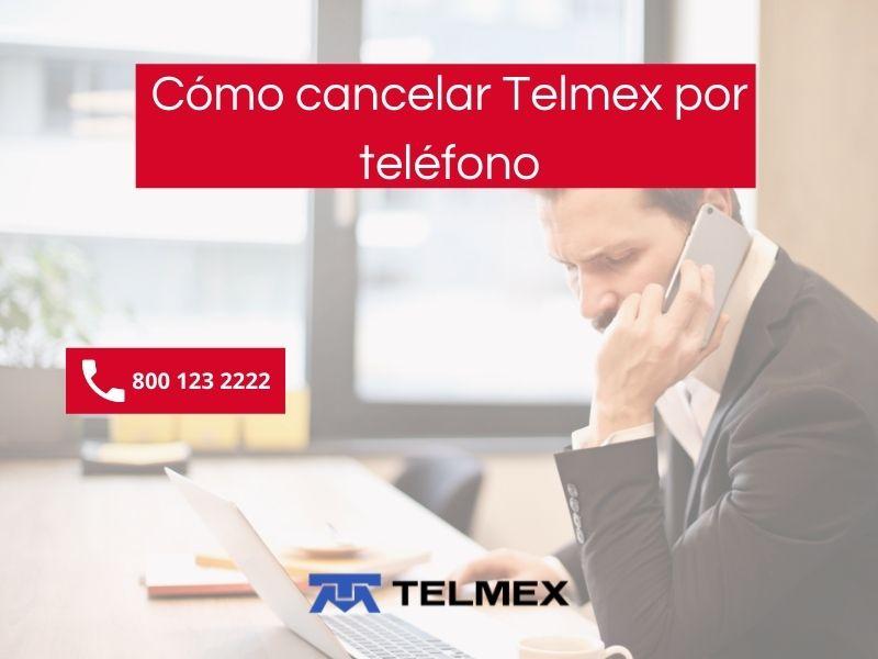 Pasos para cancelar telmex por teléfono