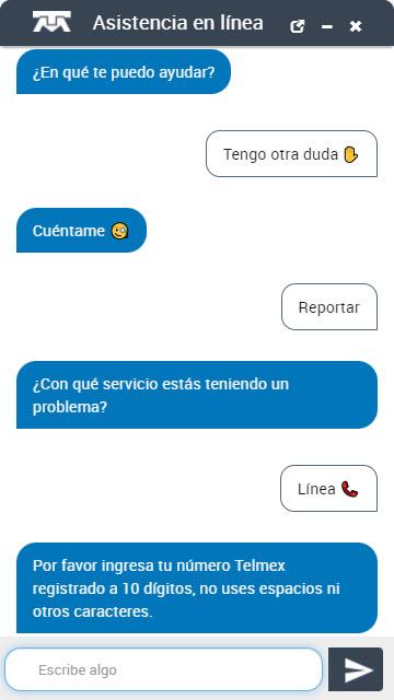 Reportar telmex en línea