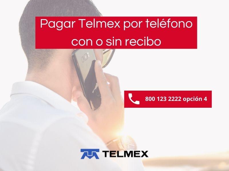 Pasos para pagar telmex por teléfono